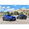 BMW M社が開発を手がけた「BMW X5 Mコンペティション」(写真左)と「X6 Mコンペテ...