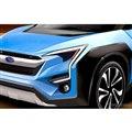 車名は「エヴォルティス」?スバルとトヨタの共同開発による電動クロスオーバーSUV予想図