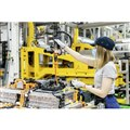 メルセデスベンツ子会社のアキュモーティブのバッテリー工場