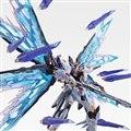 「METAL BUILD ストライクフリーダムガンダム 光の翼オプションセット SOUL BLUE Ver.」(※画像はすべてイメージ)