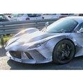 フェラーリ 新型ハイパーカー開発車両(スクープ写真)