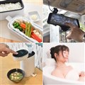 「お米もおかずもこれ一台!2段式超高速弁当箱炊飯器 TKFCLDRC」「ミラー型全面液晶360度ドライブレコーダーリアカメラ付き SMFSD3DR」など