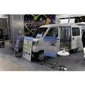 モビリティープラスの新型コロナウイルスワクチン輸送車両(オートモーティブワールド2021)