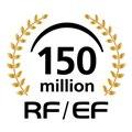 累計生産本数1億5000万本達成記念シンボルマーク