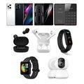 「Find X3 Pro」「RedMagic 6」「NichePhone-S+」「Mi完全ワイヤレス小型イヤホン Basic 2」「Mi完全ワイヤレスイヤホン2 Basic」「Miスマートバンド 6」「Mi Watch Lite」「Mi 360°家庭用スマートカメラ 2K」