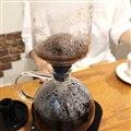 「火を使わない電気式サイフォンコーヒーメーカー」