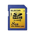 [MF-FSDH08GC6] SDスピードクラス「Class6」に対応したSDHCカード(8GB) 。価格はオープン