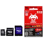 [HNT-TIN2GR] インベーダーチェインの体験アプリが付属するmicroSDカード(2GB/アダプタ付) 。価格はオープン