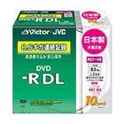 [VD-R85CW10] 8倍速記録に対応したデータ用DVD-R DLメディア10枚パック(スリムケース)。価格はオープン