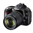 [D90] ニコンDXフォーマットCMOSセンサーを搭載した動画撮影対応のデジタル一眼レフカメラ(1230万画素)。価格はオープン