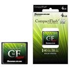 [HPC-CF4GV2] コストパフォーマンスに優れた高速タイプのコンパクトフラッシュ(4GB)。価格はオープン