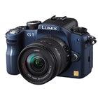 [DMC-G1] マイクロフォーサーズ規格を採用したデジタル一眼カメラ(コンフォートブルー)。ボディ単体の市場想定価格は80,000円前後