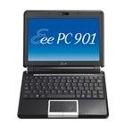 [Eee PC 901-16G ファインエボニー] Atom N270/16GB SSD/Draft 2.0 IEEE802.11n対応無線LANを備えた8.9型液晶搭載ウルトラモバイルノートPC(ファインエボニー)。市場想定価格は54,800円