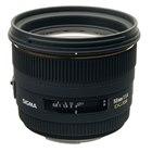 [50mm F1.4 EX DG HSM] デジタル対応大口径標準レンズ(最短撮影距離45cm)。本体価格は60,000円