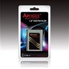 [APOGEE 1.8インチZIF SSD] 40pin パラレルATA ZIFコネクターインターフェイスを採用した1.8インチ内蔵SSD。価格はオープン