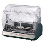 [VD-X15S] ステンレスクリーントレイや標準省エネコースを備えた食器乾燥機。市場想定価格は19,000円前後