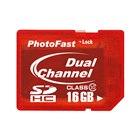 [PF-DCSDHC32GB10] SDスピードクラス「Class10」に対応したSDHCカード(16GB)。市場想定価格は7,980円