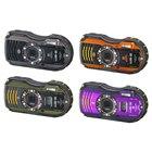 PENTAX WG-3(ブラック/オレンジ)、PENTAX WG-3 GPS(グリーン/パープル)