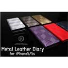SLG Design iPhone5/5s D4 Metal Leather Diary