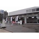 """フォルクスワーゲン芝浦 認定中古車センターは、港区芝浦の""""ヤナセモール""""に隣接した場所にある。"""
