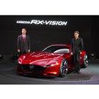 東京モーターショー2015、トップバッターとなったマツダは、スポーツカー『RX-VISION コンセプト』を発表