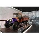 1階エントランスに展示されている1924年「ウーズレーCP型」。