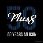 モーガン プラス8 の50周年記念車のロゴ