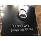 ようやく日本に上陸したマルコポーロ!!MercedesBenzV220dに 「MarcoPoloHORIZON」追加。ジャパンキャンピングカーショー2018でお披露目!!