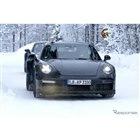 ポルシェ 911 ターボ スクープ写真