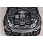 「AMG GT63 S 4MATIC+」の4リッターV8ターボエンジン。