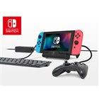 「テーブルモード専用 ポータブルUSBハブスタンド for Nintendo Switch」