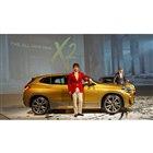 「BMW X2」の発表と同時に、元SMAPの香取慎吾がBMWのブランドフレンドに就任したことも...