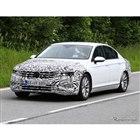 VW パサート 改良新型 スクープ写真
