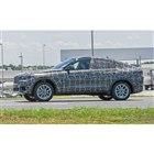 BMW X6 次期型スクープ写真