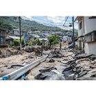 平成30年7月豪雨(7月10日、広島市) (c) Getty Images