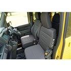 「N-VAN +STYLE FUN・Honda SENSING」のフロントシート。運転席にはサ...