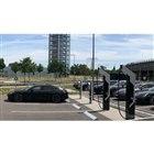 ポルシェがドイツ・ベルリンに開設した800Vで急速充電できる充電ステーション