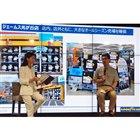 発表会では、販売店であるジェームス光が丘店店長・岩井藤雄氏も登壇。オールシーズンタイヤに対する...