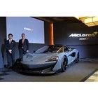 「マクラーレン600LT」とマクラーレン・オートモーティブのアレックス・ロング コマーシャルオ...