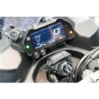 メーターはデジタル式。走行モードの切り替え機構など、装備も充実している。