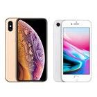 「iPhone XS」「iPhone 8」