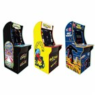 「Arcade1Up スペースインベーダー(日本仕様電源版)」「Arcade1Up パックマン・パックマンプラス(日本仕様電源版)」「Arcade1Up ギャラガ・ギャラクシアン (日本仕様電源版)」
