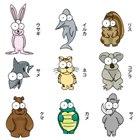 動物スマホリング全18種