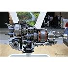 EVS31 スバルブースに展示されたハイブリッドパワートレインのカットモデル