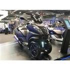 プジョーモーターサイクルの3輪EV『E-メトロポリス・コンセプト』(パリモーターショー2018)