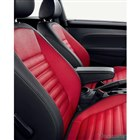 VW ザ ビートル マイスター シート:ブラック&レッド/レザー