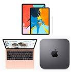※画像は上段が「iPad Pro」、下段左から「MacBook Air」「Mac mini」