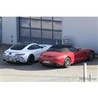 メルセデス AMG GT 53 スクープ写真(ホワイトの車両)