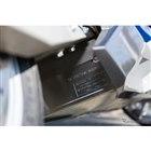 リチウムオンバッテリーは車体下部に収められている
