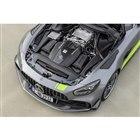 「AMG GT R PRO」は、先に登場した「GT R」と同スペックとなる最高出力585ps、...